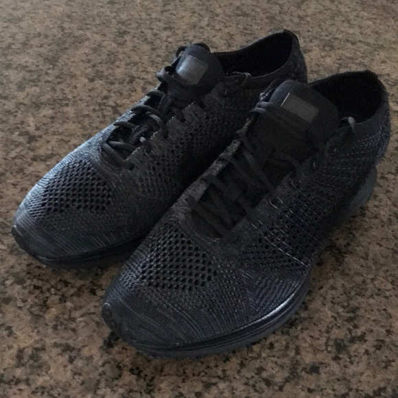 sneakers for cheap be7b6 5ad61 Nike flyknit racer triple black 526628-009. M 5b9816b9409c15540b72bfe3